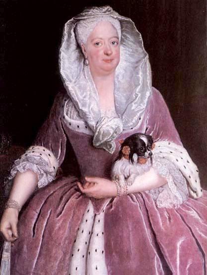 Prūsijos karaliene Sofija Dorotėja 1706m.