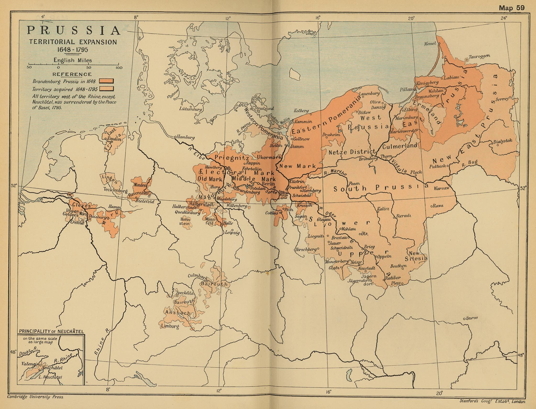 Prusija 1648