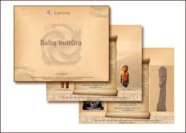 Elektroninė prezentacija apie Baltų kultūrą lietuvių kalba