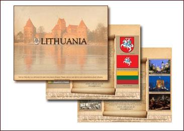 Elektroninė prezentacija apie Lietuvą. pps