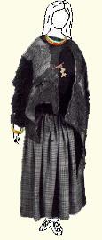 Moters apranga. Geležies amžius