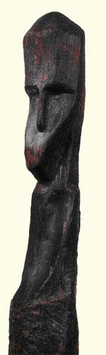 Stulpinė skulptūra